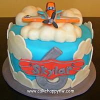 """""""Planes"""" themed Cake"""