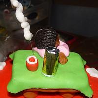 Snoozing Cake  by Jeana Byrd