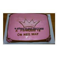 Baby Shower Princess Cake