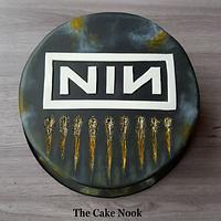 Nine Inch Nails cake