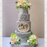 Shadow Box Inspired Cake