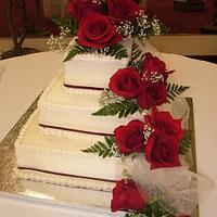 roses and buttercream