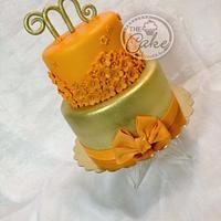 Orange and gold
