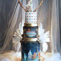 """Las Vegas wedding cake"" for ""Dream wedding locations"""