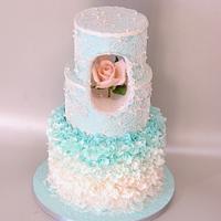 Enchanted rose - pastel collaboration