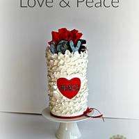 Love & Peace - Cakes Against Violence Collab