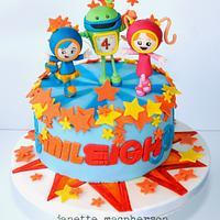 Team UmiZoomi Birthday cake