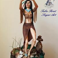 Selfie Pocahontas