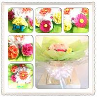 mothers day bright cupcake bouquet