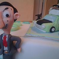 Mr. Bean cake by Manuela's Cake Art Studio