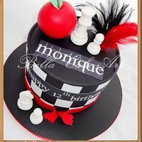 Twilight birthday cake by Bella Cake Art