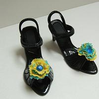 Fondant Shoes by Crowning Glory
