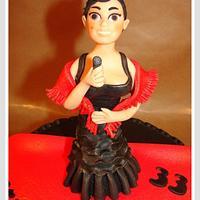 Fadista Cake Topper