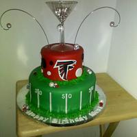 "Falcon's Meeting ""Diva"" Cake"