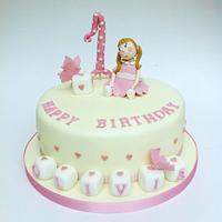 First Birthday Cake by Claire Lawrence