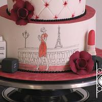 Turning 18 with style by Sugar Avenue Cakes