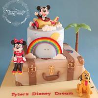Disney Holiday/Vacation Cake