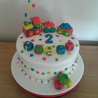 2nd Birthday cake