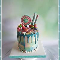 Candy cake🍭🍭