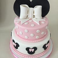 Minnie mouse gluten free cake