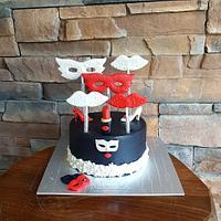 Mask Cake