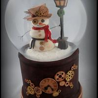 Cuties Little Christmas Collaboration :Steampunk Snow globe