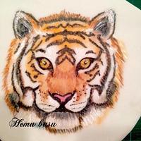 Bengal tiger sketch