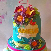 A Flamingo for Amelie's  Birthday
