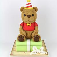 Party Bear Cake