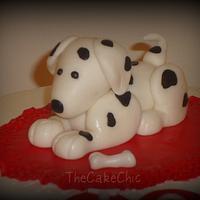 Dalmation Cake by Misty