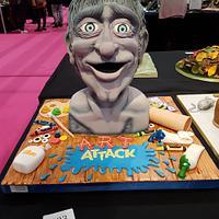 Art Attack 'The Head' Cake
