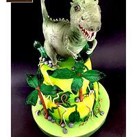 Dinasour cake