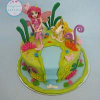Mia and me cake by Dzesikine figurice i torte