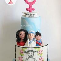 Venus - Save The Girl Child Cake Collaboration