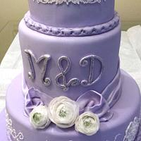 Lavender Engagement