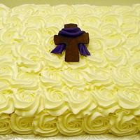 Easter Rose Cake by Stephanie Dill