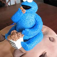 Giant Cookie Cookie Monster by Jessica