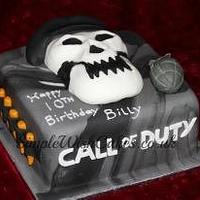 Black ops Birthday Cake