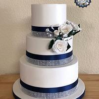 Thanksgiving Weekend Wedding Cake