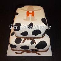 Rodeo themed cake by THE CAKE SHOPPE