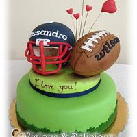 I love rugby by Sara Solimes Party solutions
