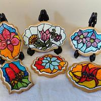 Stained Glass Challenge. Australian Wildflower collection