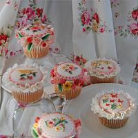 Victorial Garden Cupcake Series