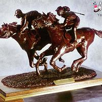 Melbourne Cup Chocolate Sculpture by Serdar Yener | Yeners Way - Cake Art Tutorials