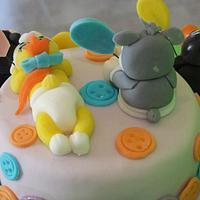 CAKE BABY LOONEY TUNES by Marilena