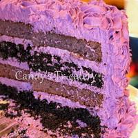 Purple Velvet Cake by Candy Whiting
