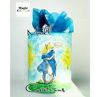 Alice painting