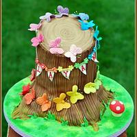 Woodland Butterflies by The Sugarpaste Fairy