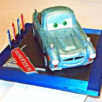 Agent Finn McMissle Cake