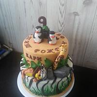 Madagascar cake by Gabriela Angelova